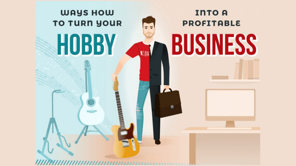 Turn hobby into a Business